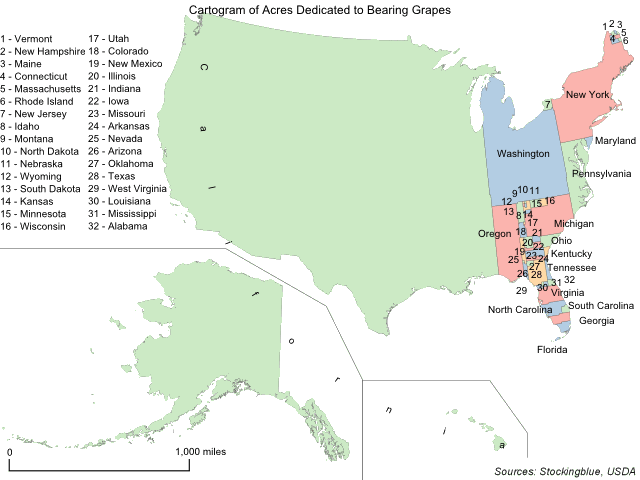 Grape Production in the United States